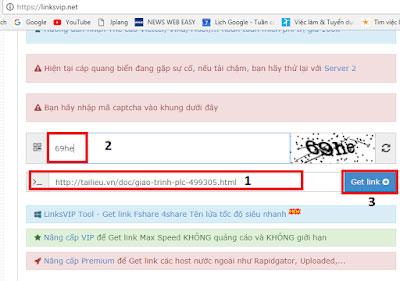 Get link tailieu.vn - Cách tải tài liệu trên tailieu.vn