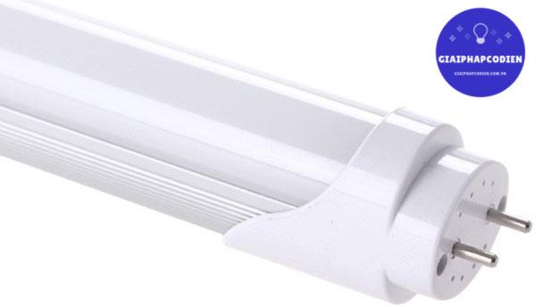 Đèn tuýp LED bóng thủy tinh màu trắng tinh tế từng đường nét, sang trọng từ góc nhìn