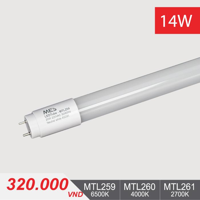 Đèn LED Tube T8 - 14W/1m2 - MTL259/MTL260/MTL261