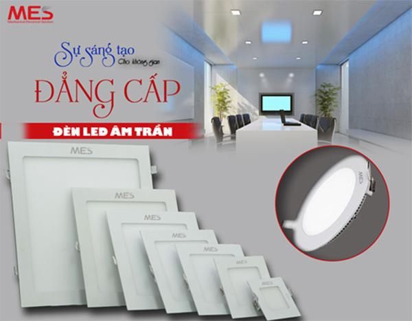 Bảng giá đèn LED âm trần MES