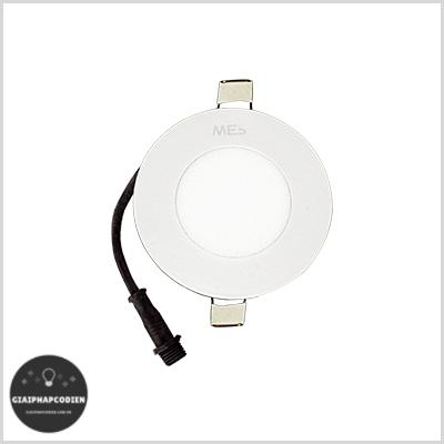 Đèn LED âm trần 4W Tròn MES